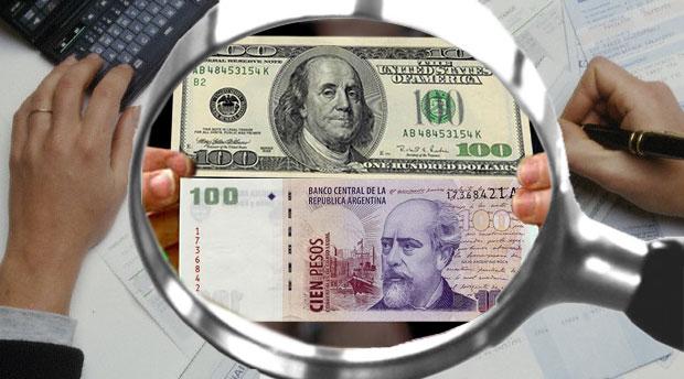 dolar ou peso