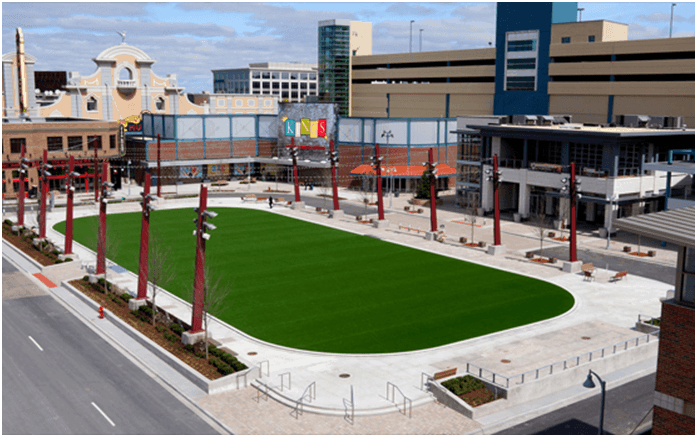 LEED, turf, landscape, drainage, golf, bunkers, artificial turf, fieldturf, field turf, synthetic turf, athletic field, green roof, softball, baseball, football, soccer, lacrosse, field hockey, bocce, tee boxes, golf greens, sub-surface, invisible structures, sports field, forever lawn, synlawn, USGA, rooftop, shockpad, elayer, gmax, hic, foreverlawn, astro turf, prograss, newgrass, turf reinforcement, drivable grass, geocell, geo cell,geogrid, geo grid, shock pad, usgbc, asla, aia, green building