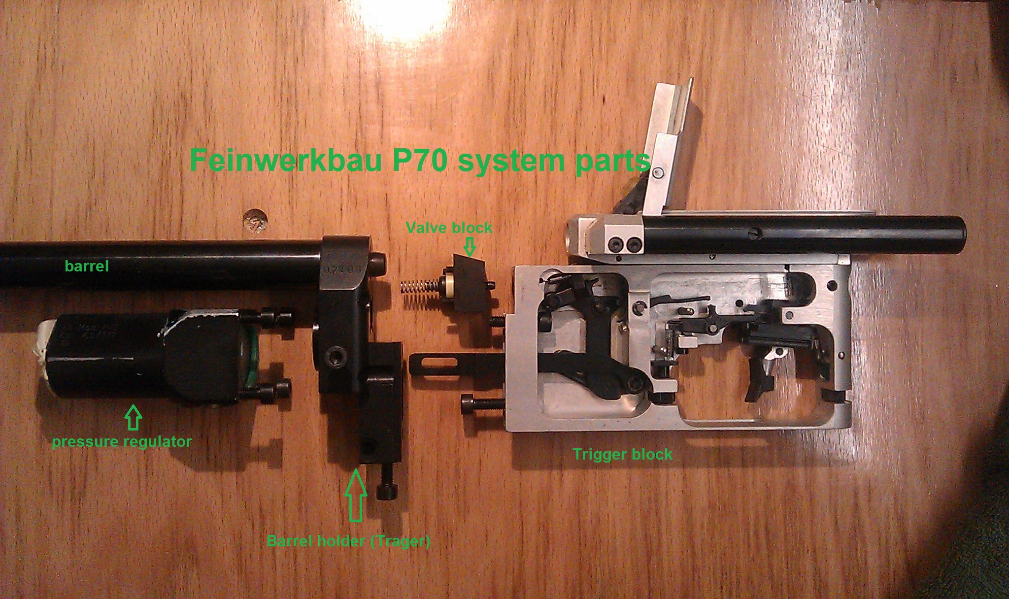Feinwerkbau P70 Conversion To 16 Joule 12 Fpe For Field
