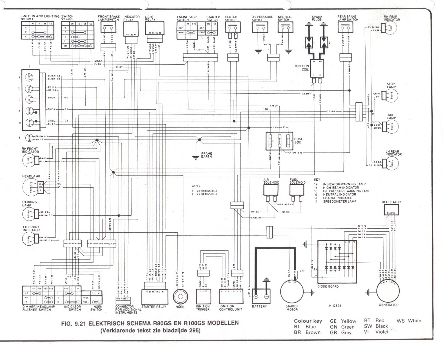 1995 tvr chimaera ignition fuse box diagram