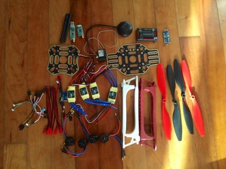 Quadcopter Parts List
