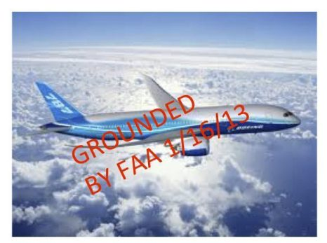 787 GROUNDED