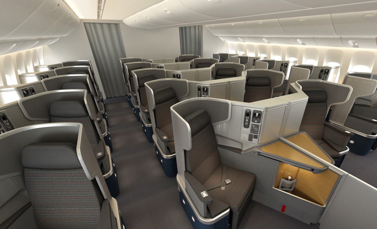 777 Interieur American Airlines Shows Off New Boeing 777 300er Interior