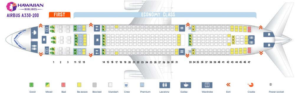 Hawaiian Airlines Seating Chart To Las Vegas Viewkaka