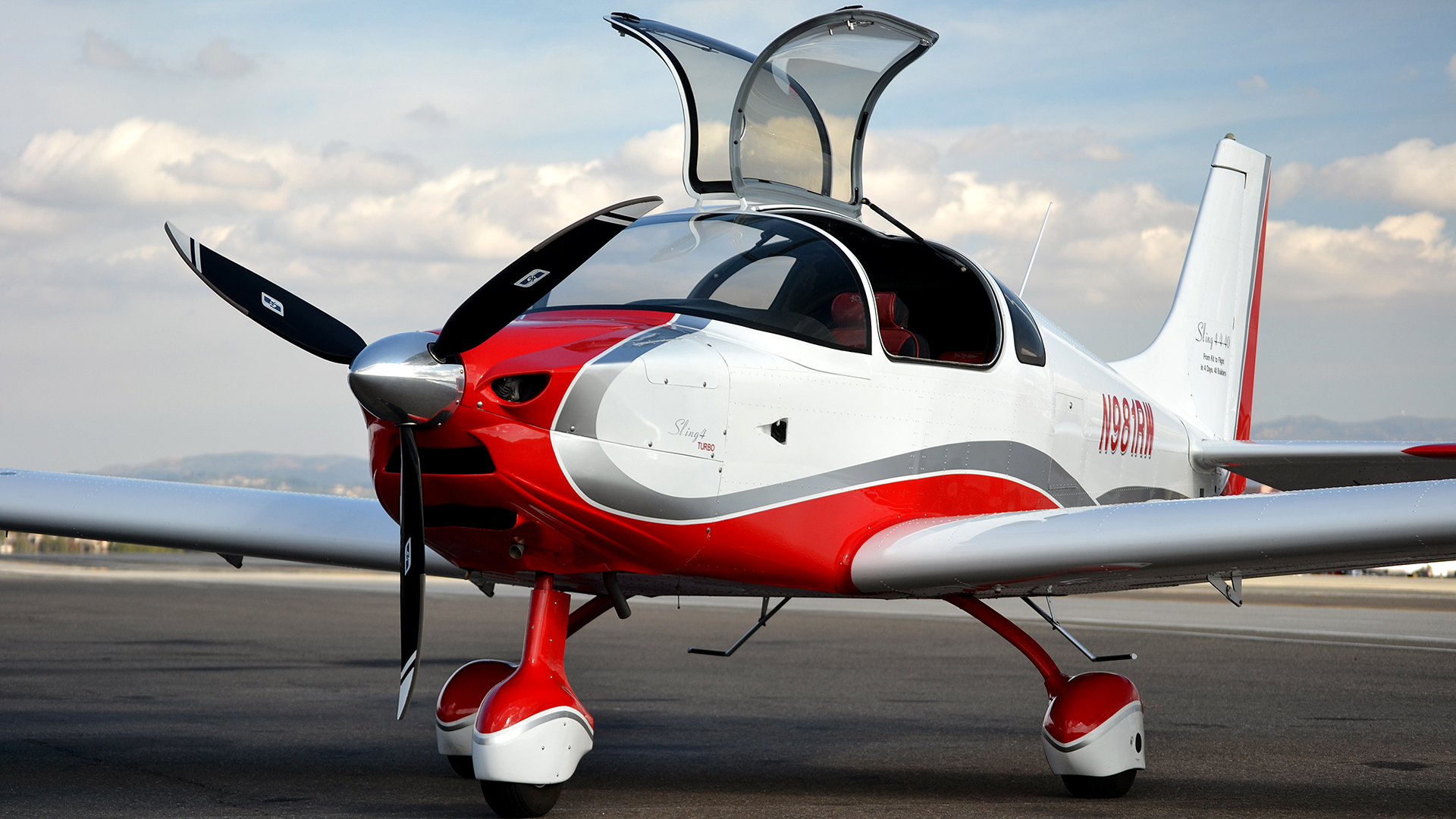 Sport Airplane For Sale Sling 4 Kit The Airplane Factory Usa