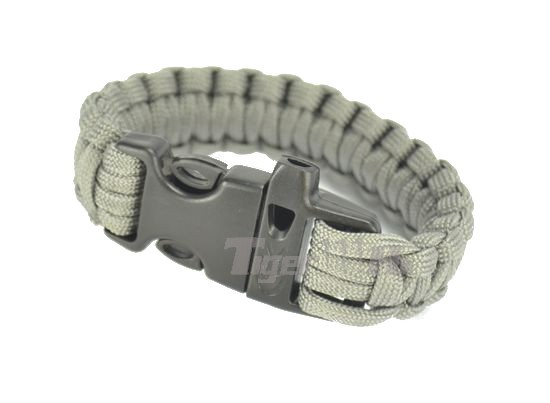 Element Safety Rope Bracelet With Quick Release Buckle