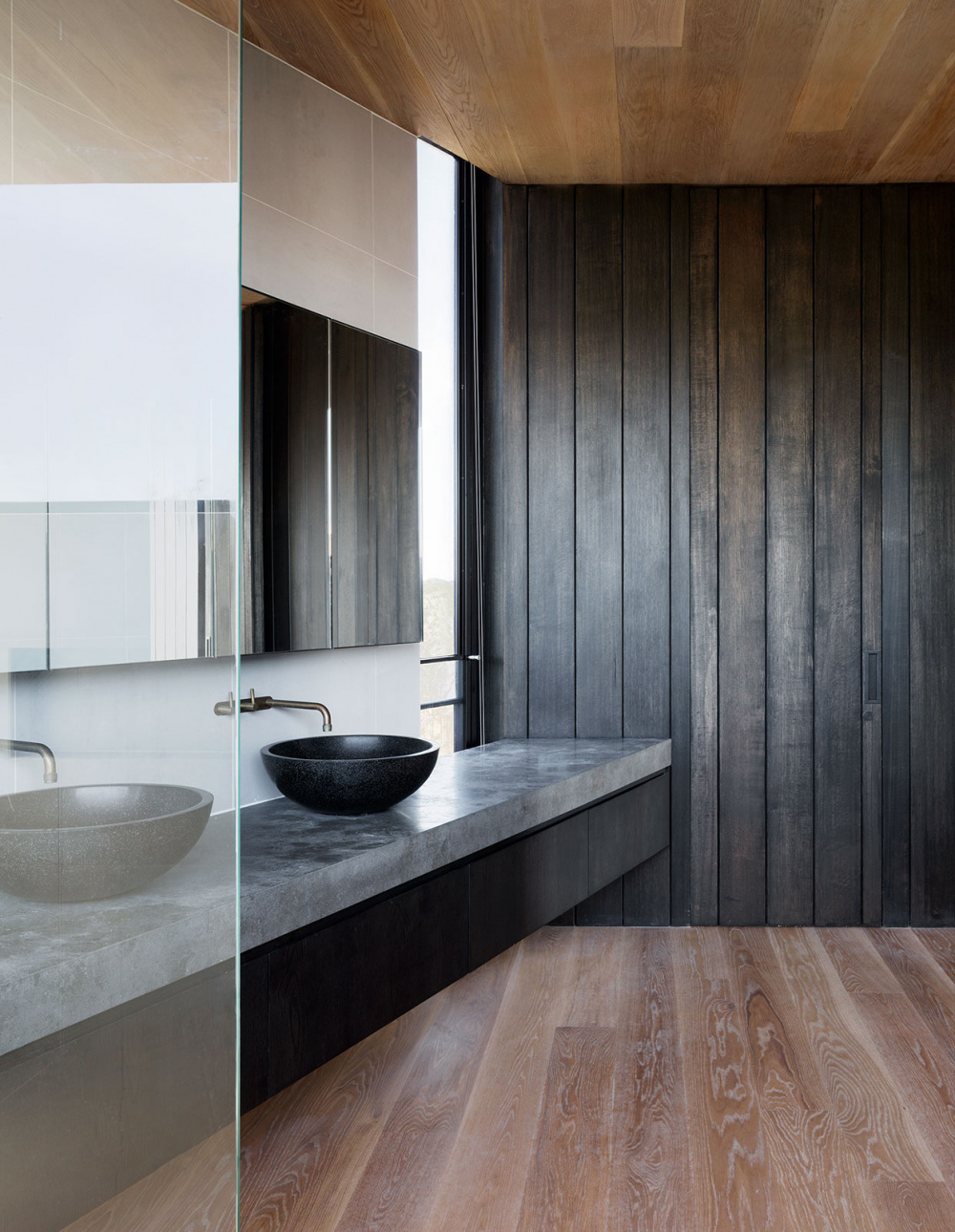 35 Dark Bathroom Ideas Industrial Inner City Modern And More