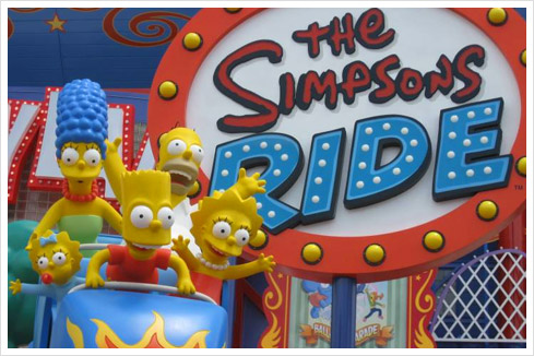 simpsons ride Universal Studios: The Simpsons Ride