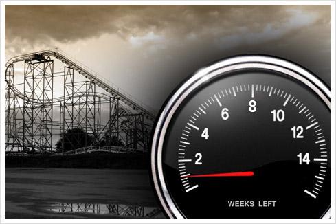 countdown 1 woche Countdown: 1 Woche