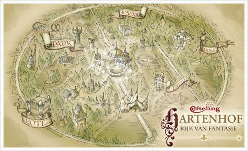 Hartenhof 02 Hartenhof   Efteling baut einen neuen Darkride für 2012