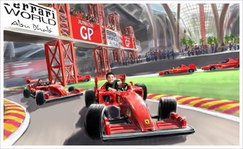 ferrari world 09 Ferrari World – Eröffnung auf Oktober vorverlegt!