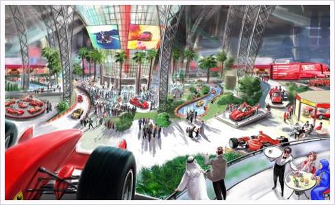 ferrari world 10 Ferrari World – Eröffnung auf Oktober vorverlegt!