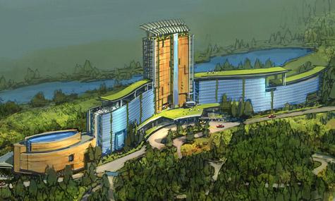 EartQuest Hotel Resort EarthQuest   Der Freizeitpark wird ab 2011 schrittweise realisiert