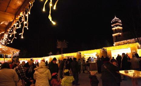 Bayern Park Weihanchtsmarkt 2010 2 Airtimers Weihnachtszauber   Bayern Park