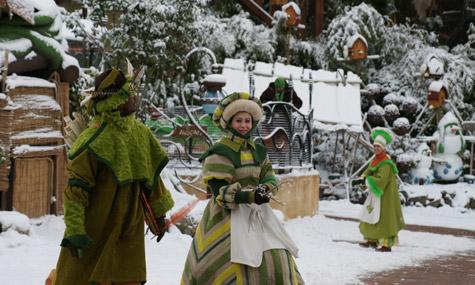 Phantasialand Weihnachten Wuze Town Airtimers Weihnachtszauber – Phantasialand