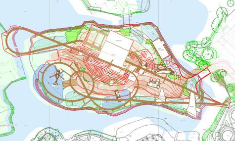 LC12 Coaster Layout Thorpe Parks LC12   Alle Details & Kommt die Achterbahn erst 2013?