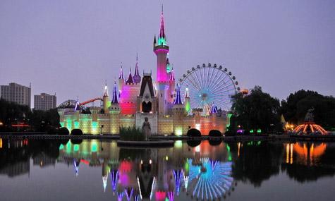 china Shijingshan China, das Land der Mega Freizeitparks. Aber braucht man das wirklich?