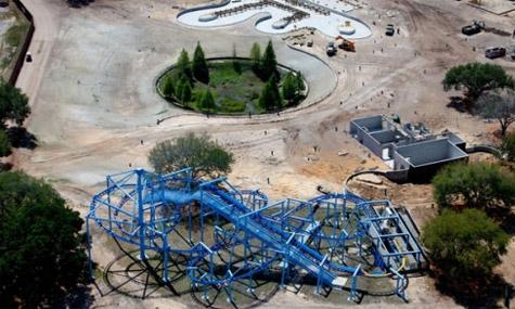 Legoland Florida Construction 02 Legoland Florida – Etwas Altes, etwas Neues und etwas Blaues