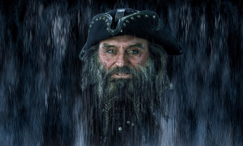 POTC Ghostly Waterfall Blackbeard Disneyland Paris   Was wäre eine Welt ohne Captain Jack Sparrow?