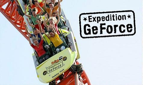expedition geforce 01 Die beste Achterbahn der Welt* wird zehn Jahre alt.