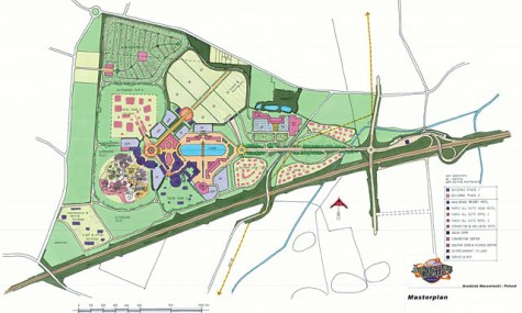 Adventure World Warsaw Masterplan 475x285 Adventure World Warsaw   Ein 400 Mio. Euro Freizeitpark für Polen