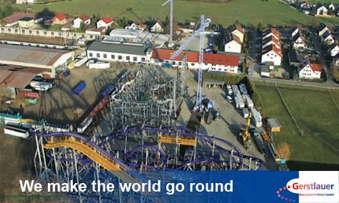 Gerstlauer Amusement Rides Airtimers Gewinnspiel   Besucht mit uns das Gerstlauer Werksgelände!