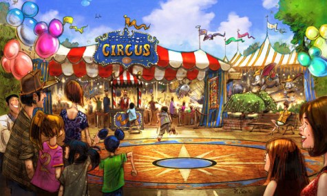 Disney World New Fantasyland Storybook Circus Dumbo 475x285 Walt Disney World   Wann eröffnet welche Attraktion im New Fantasyland?