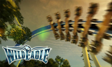 Wild Eagle Dollywood Wild Eagle   Die ersten Videos der neuen Dollywood Achterbahn