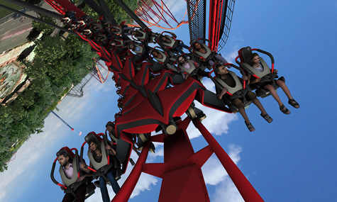 15 X Flight Six Flags Great America Airtimers Top25 der Freizeitpark Neuheiten 2012 – Platz 15 bis 11