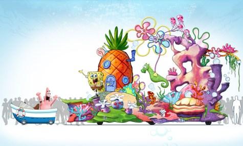 Universal Orlando Superstar Parade SpongeBob 475x285 Universal Orlando   Das Resort feiert 100 Jahre Filmgeschichte