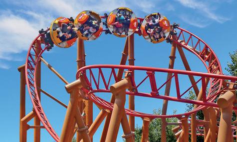 Le Pal Mack Rides Spinning Coaster Twister Toverland   Magische Erweiterungspläne des Zauberlandes