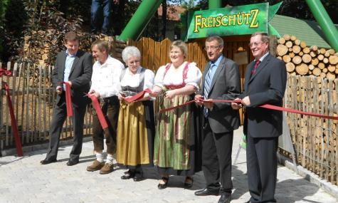 Bayern Park Freischütz Einweihnung 1 475x285 Bayern Park   Freischütz offiziell eingeweiht