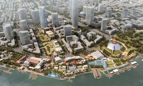 Shanghai Dream Works Centre 1 475x285 Dream Center   DreamWorks Antwort auf Disneyland Shanghai?