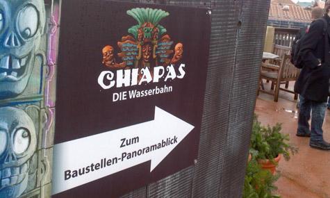 chiapas baustelle phantasialand Airtimers vor Ort   Neue Baustellenbilder von Chiapas