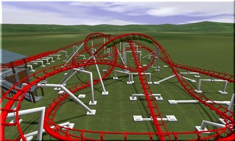 VekomaCorkscrew coasterboaster s Theme Park Studio   Ein neuer Stern am Simulationshimmel?