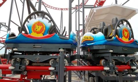 Sky Spin 2 Sky Spin feiert Schienenschluss und baldige Eröffnung