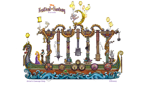 Festival of Fantasy rapunzel 475x285 Disneys neue Parade im Magic Kingdom