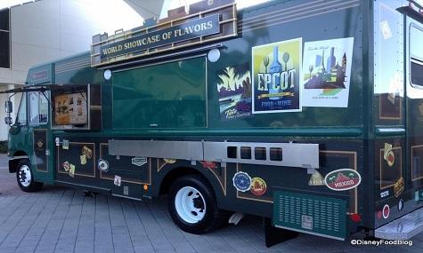 World Showcase of Flavors Food Truck Mit FoodTrucks durch die Walt Disney Themenparks reisen – ganz ohne Eintrittskarte