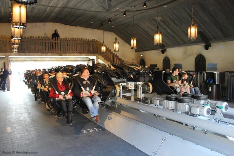 AT FdD Opening 02 Neuheiten Check: Flug der Dämonen, Heide Park Resort
