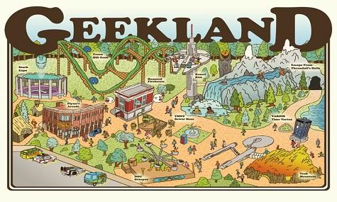 Geekland poster Investoren für neue Freizeitpark Fernseh Show gesucht