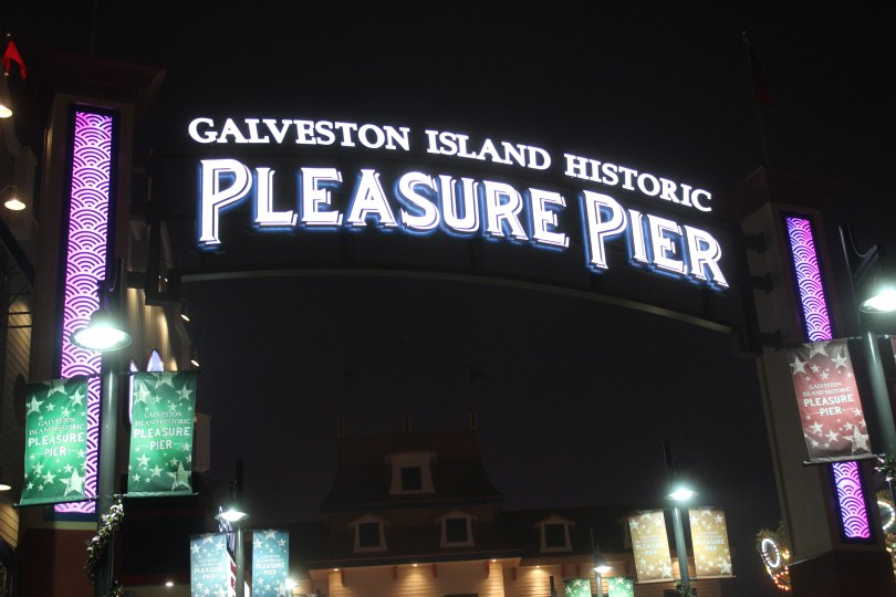Pleasure Pier Galveston: Die Angst vor dem Hurricane