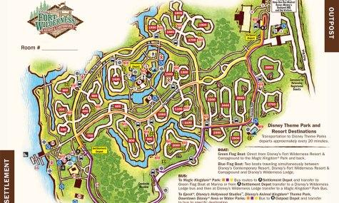 fort wilderness resort map 475x285  Walt Disney World Resort Check   Disneys Fort Wilderness Resort