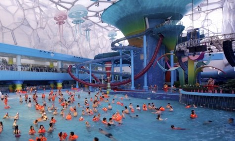 Wave Pool Water Cube 475x285 Wasserparks aus aller Welt #4 – Water Cube