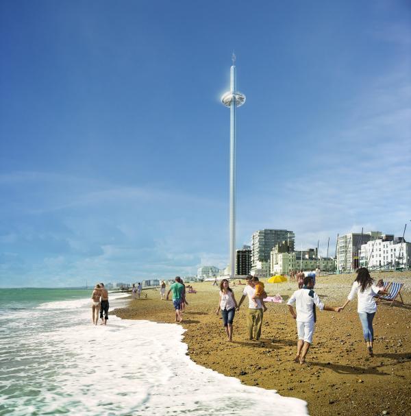 1 Hoch, höher, i360   Brighton erhält den höchsten Aussichtsturm der Welt