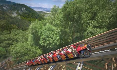 LR4 475x285 Lightning Rod – Dollywood baut schnellste Holzachterbahn der Welt