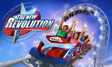 New Revolution 475x285 Neuheiten 2016 – Six Flags verkündet filmreife Highlights