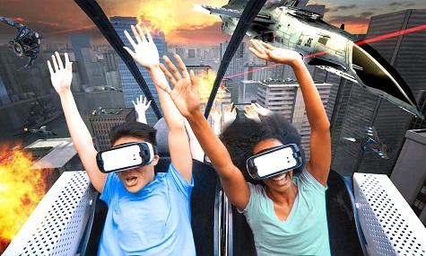 six flags virtualreality VR Coaster wird zum Trend   in Europa und Übersee
