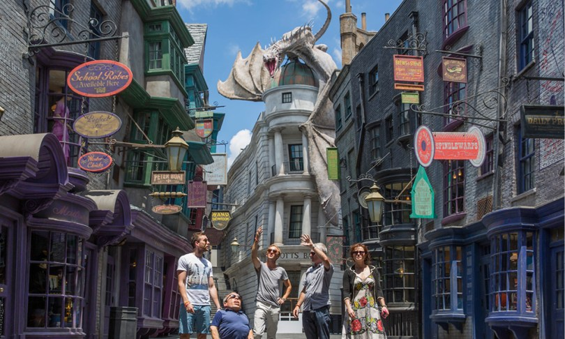 Winkelgasse Universal Disneys Antwort auf die Wizarding World of Harry Potter: Star Wars