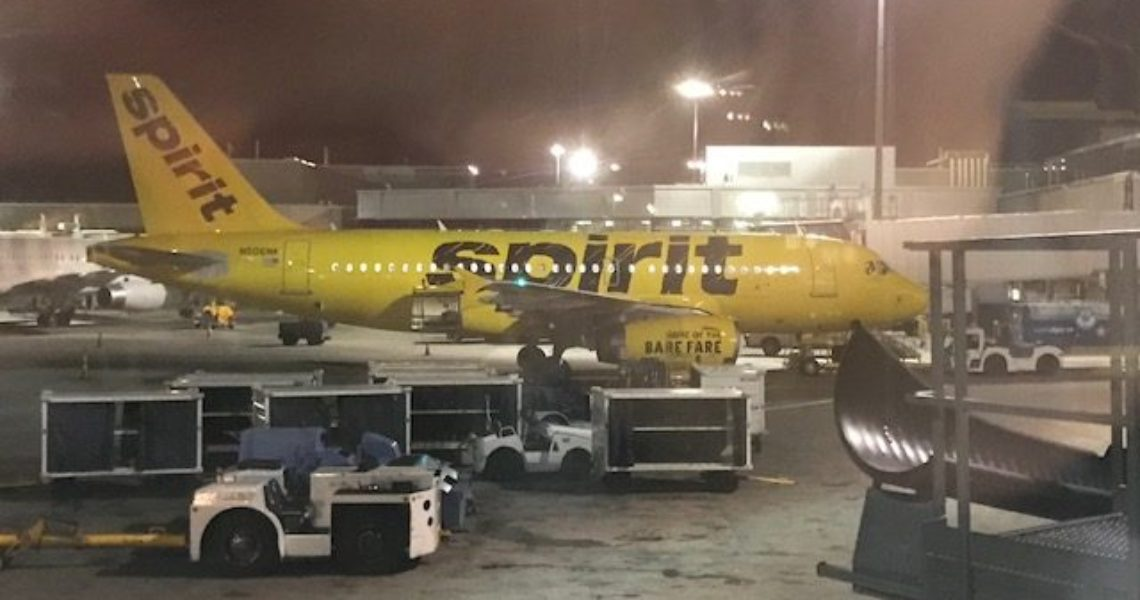 Spirit Airlines Big Front Seats The Best Consistent Aviation Deal