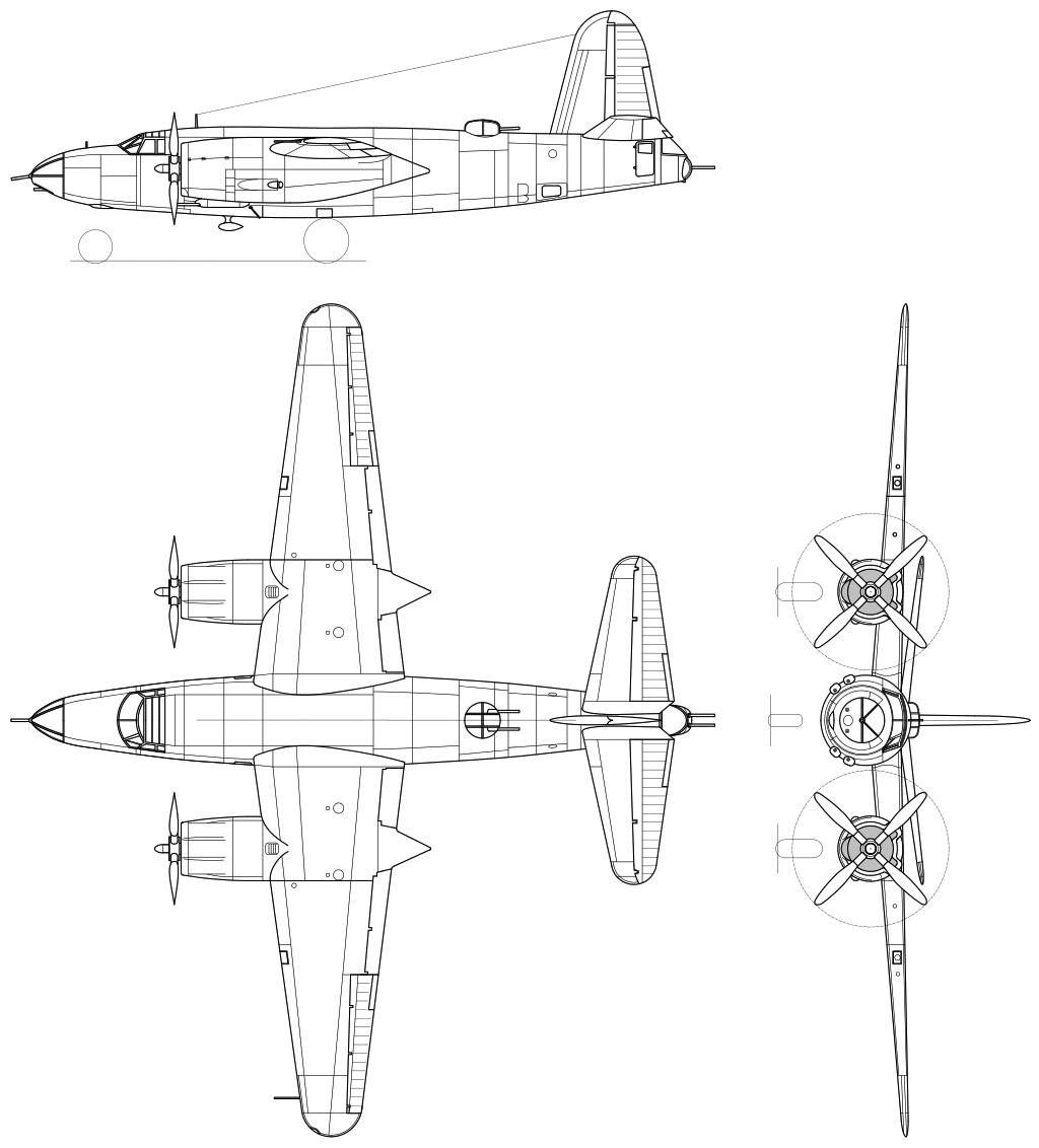 b 26 bomber diagram